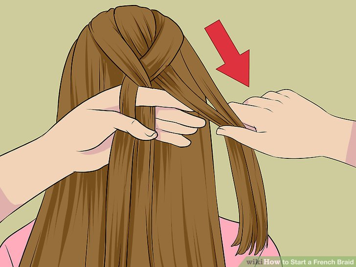 How to Start a French Braid: 12 Steps (with Pictures