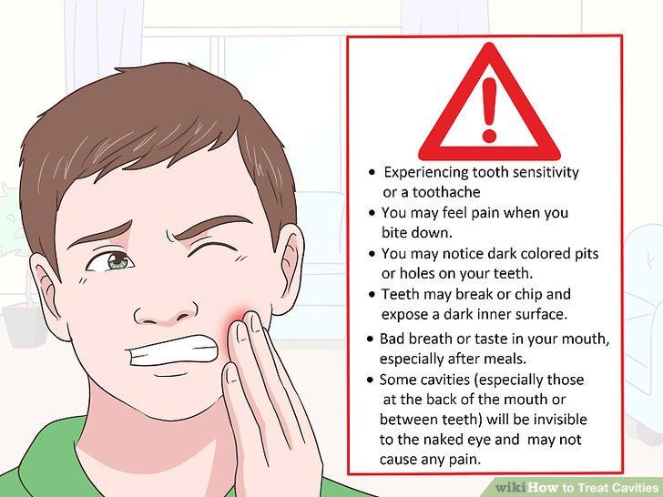 Verstehen Sie die Anzeichen und Symptome von Hohlräumen.