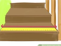 How to Calculate Carpet on Stairs: 8 Steps (with Pictures)