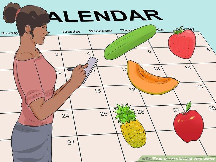 Entscheiden Sie, wie lange Sie die Detox-Diät durchführen werden.