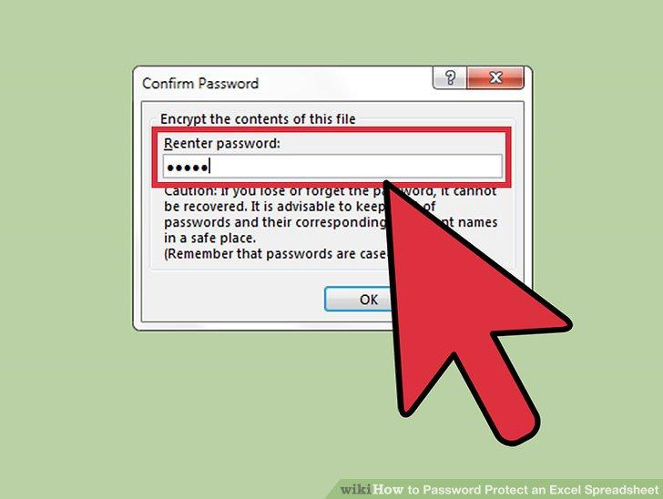 Wiederhole die Eingabe deines Passwortes.