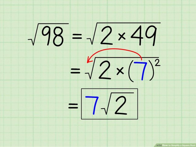 10 Ways to Simplify a Square Root - wikiHow