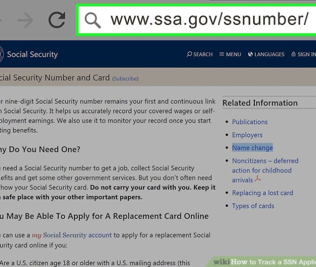 Image Titled Track A Ssn Application Step 1
