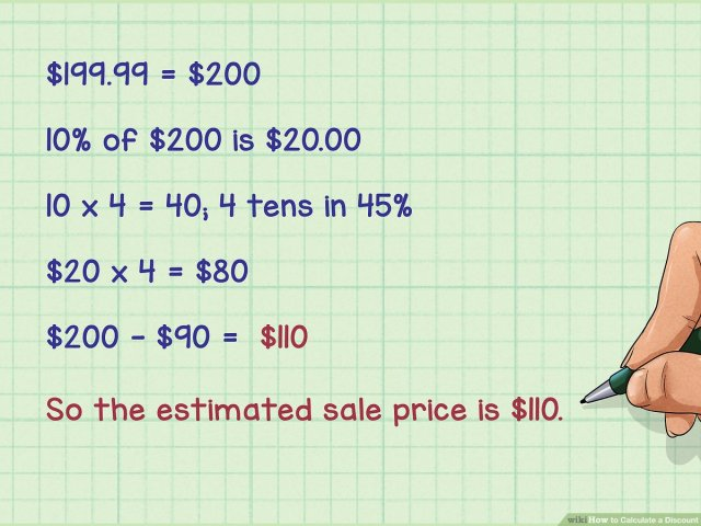 29 Ways to Calculate a Discount - wikiHow