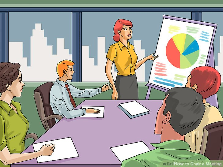 what is a chairperson in meeting gaming chair rocker how to with pictures wikihow image titled step 7