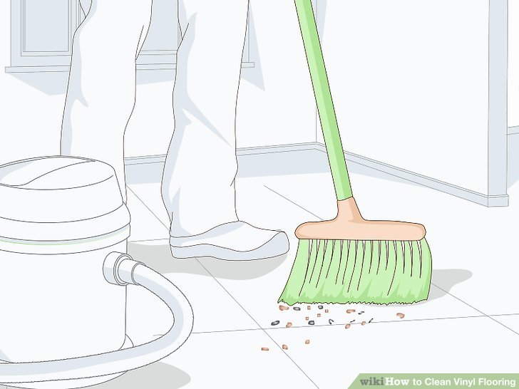 How to Clean Vinyl Flooring 15 Steps with Pictures