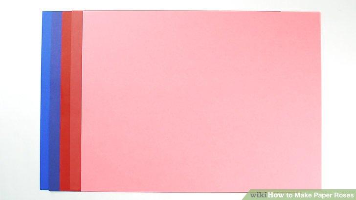 Holen Sie sich 1 Blatt A4 Baupapier.