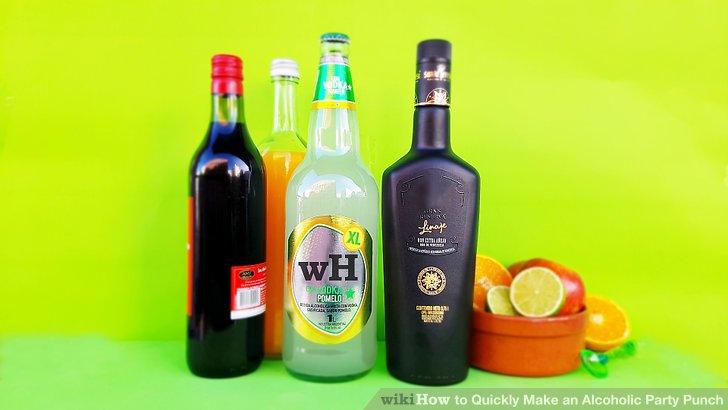 Choose an alcohol.