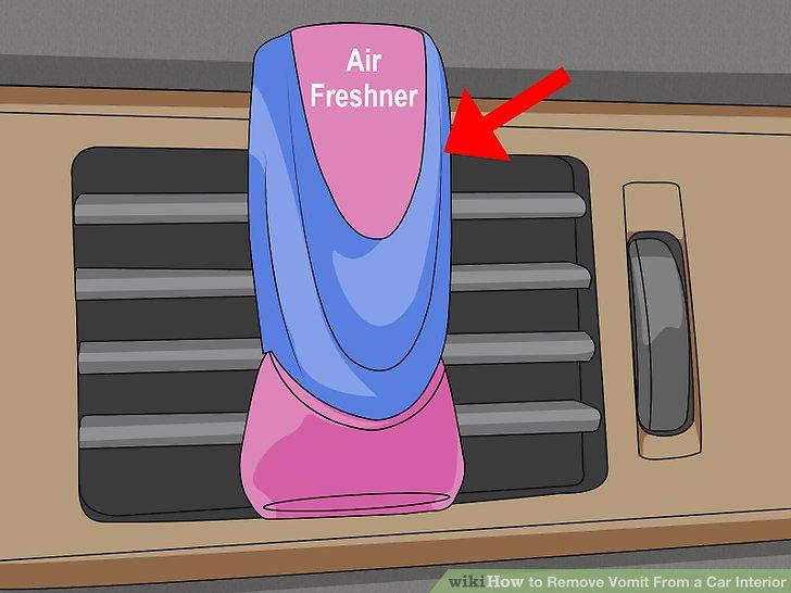 Versuchen Sie es mit einem Auto-Lufterfrischer, wenn alles andere fehlschlägt.