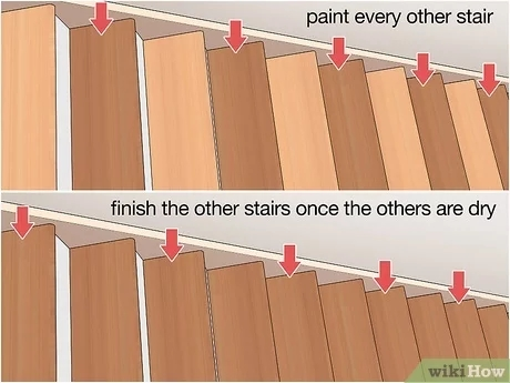 4 Ways To Replace Stair Treads Wikihow | Replacement Oak Stair Treads | Hardwood Lumber | Flooring | Stringer | Stair Nosing | Risers