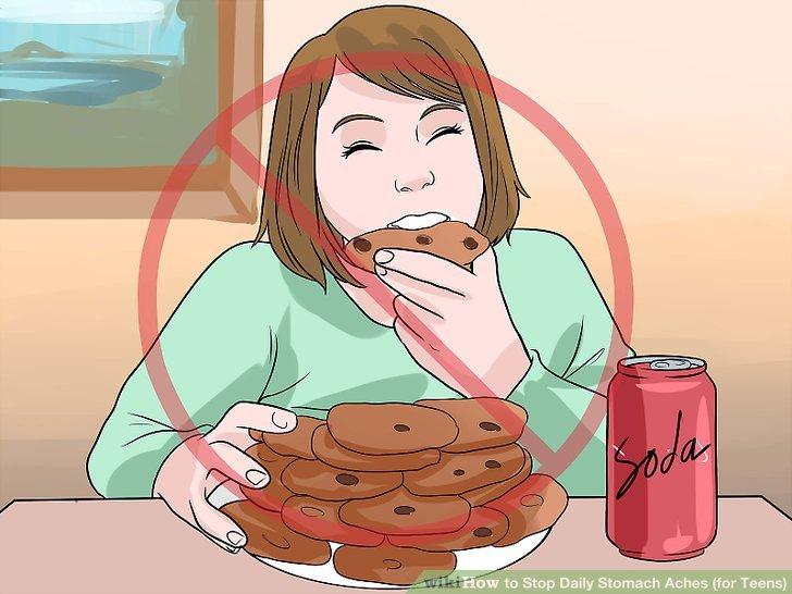 Vermeiden Sie übermäßiges Essen.
