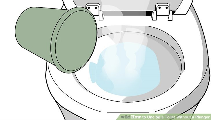 5 Ways to Unclog a Toilet Without a Plunger  wikiHow