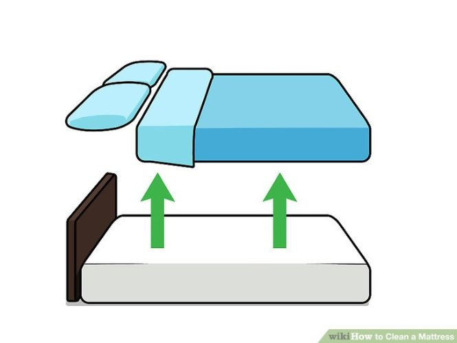 Image Led Clean A Mattress Step 1