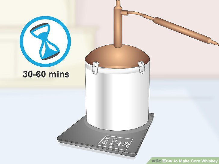 Heat the wash for 30 to 60 minutes.