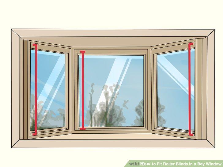 Messen Sie die Tiefe Ihrer Fensterrahmen an allen Seiten.