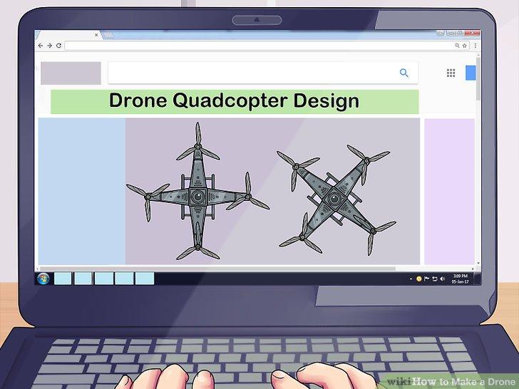 Finden Sie ein Quadrocopter-Design in einem Buch oder online als Referenz.