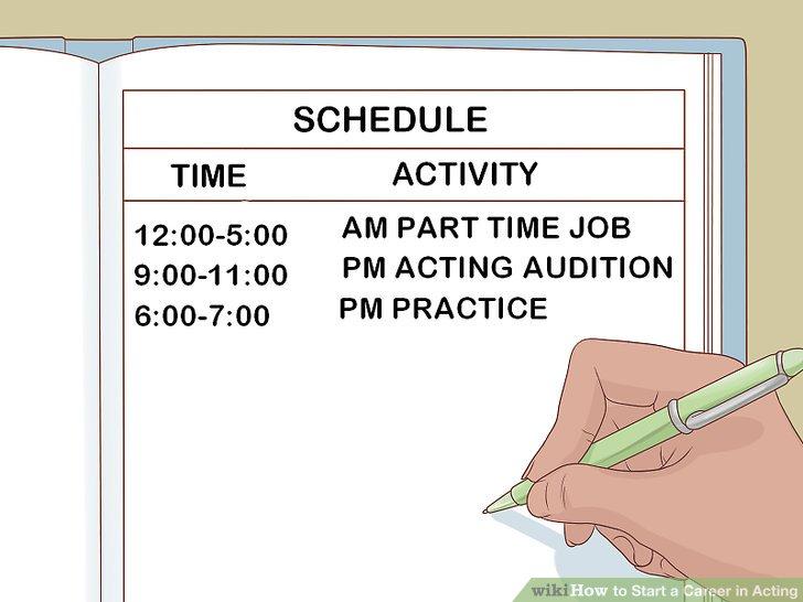 Consider your schedule.