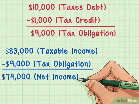 How to calculate income tax