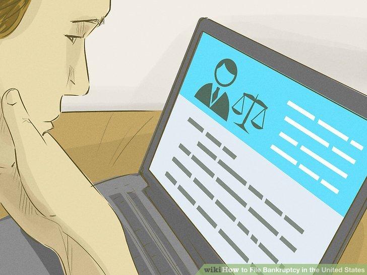 Erwägen Sie die Einstellung eines Insolvenzanwalts.
