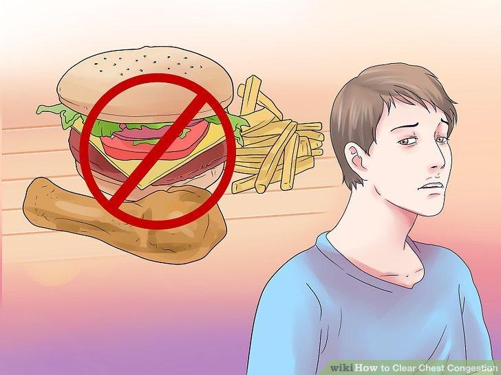 Vermeiden Sie problematische Nahrungsmittel.