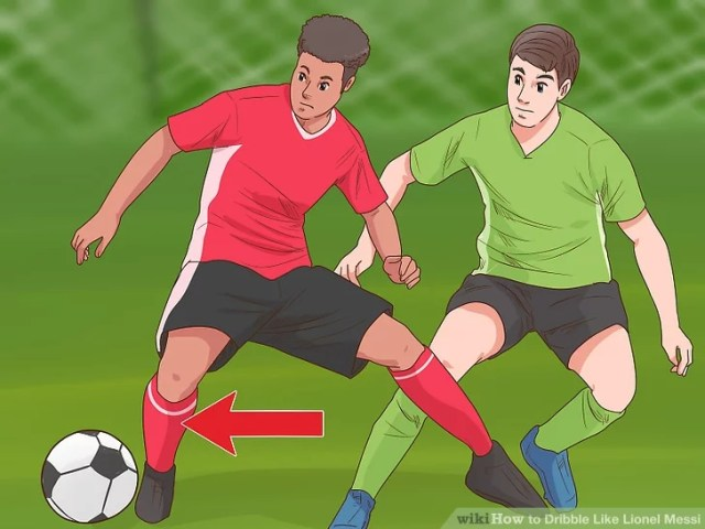 Image titled Dribble Like Lionel Messi Step 8