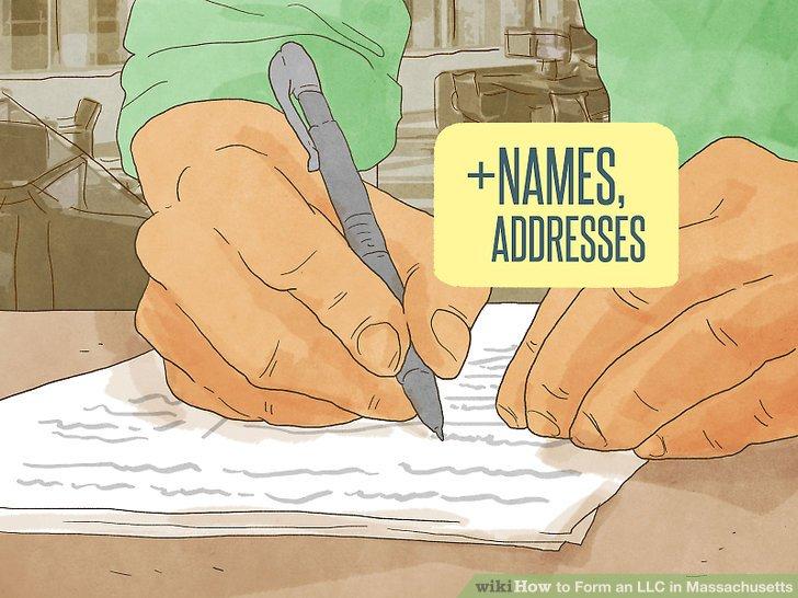 Geben Sie zusätzliche Namen und Adressen an.