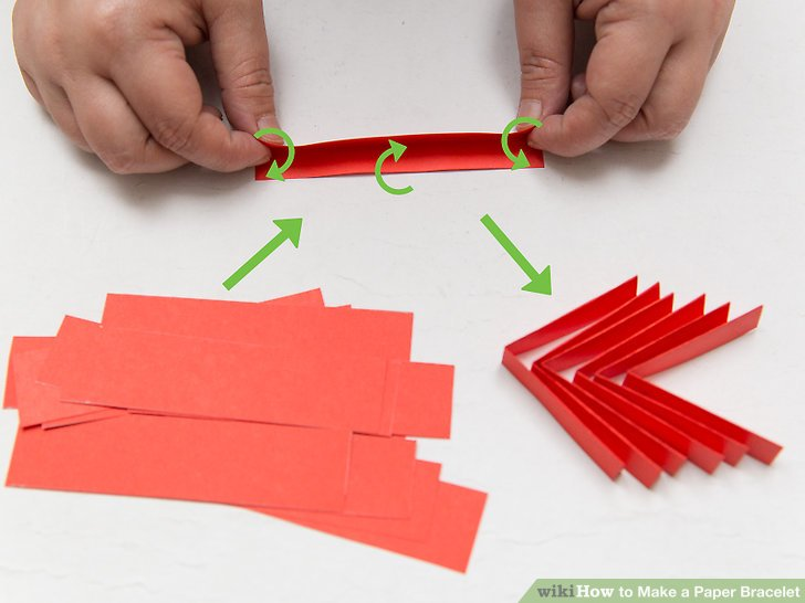 diagram origami bracelet 1997 ford ranger wiring 3 ways to make a paper wikihow image titled step 10