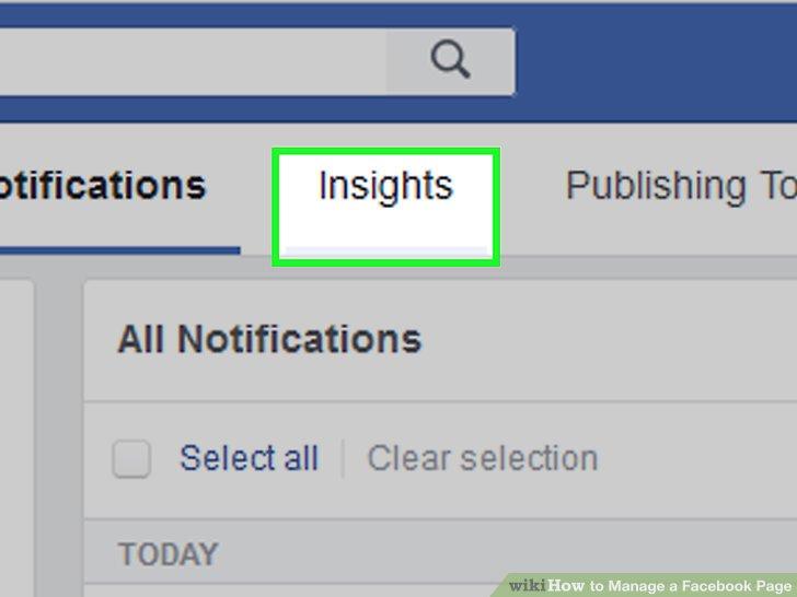 Überprüfen Sie die Statistiken Ihrer Facebook-Seite.