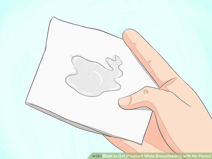 Verfolgen Sie die Veränderungen in Ihrem Zervixschleim.