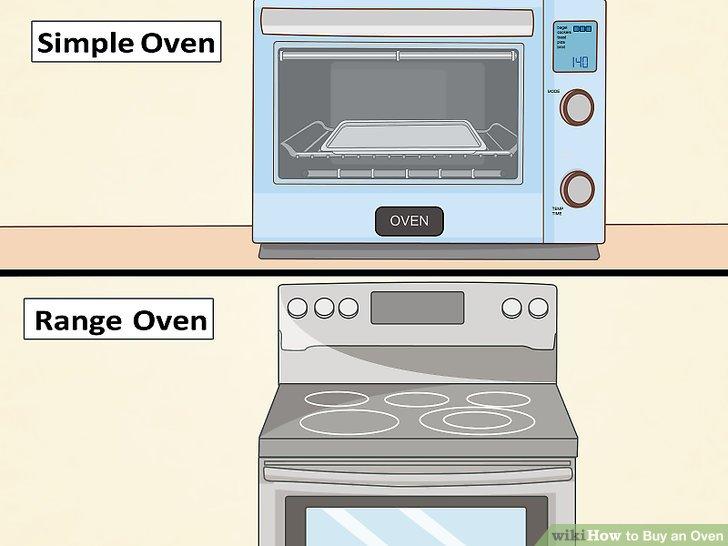 Entscheide dich für einen Herd oder Ofen.
