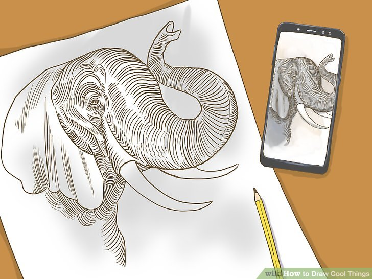 3 Ways to Draw Cool Things  wikiHow
