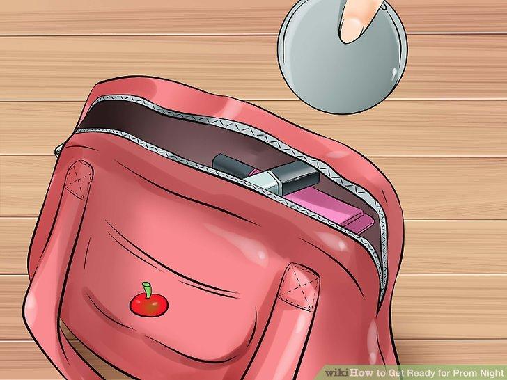 Packen Sie Ihre Tasche mit Sachen, die Sie mitbringen können.