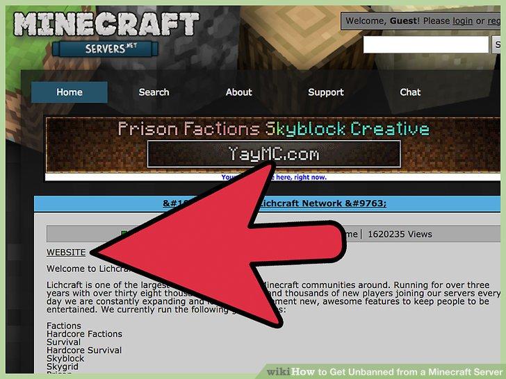 Wie Ist Es Gemacht Wie Man Entbannt Von Einem MinecraftServer - Einen spieler entbannen minecraft