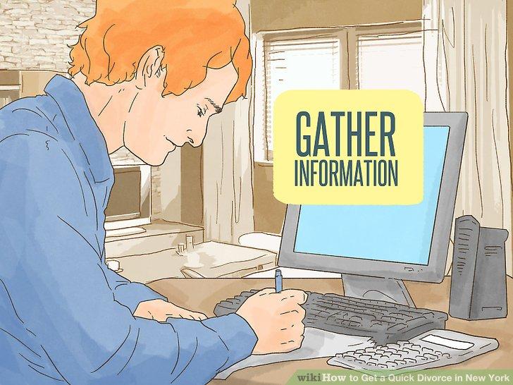 Sammeln Sie die notwendigen Informationen.