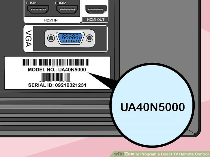 direct tv electrical wiring diagram of rice cooker 7 easy ways to program a remote control wikihow image titled step 1