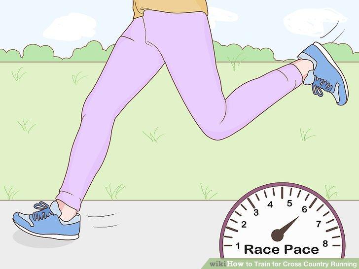 Machen Sie zwanzig Minuten lang Tempo-Läufe.