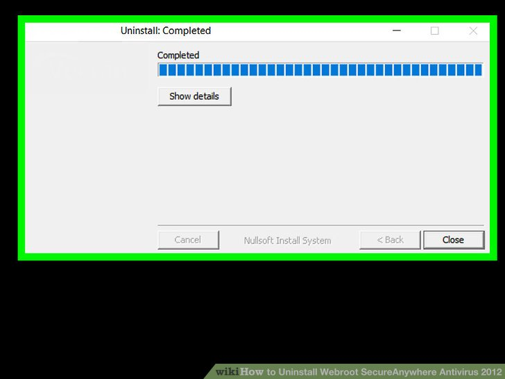 How To? - How to Uninstall Webroot SecureAnywhere Antivirus 2012