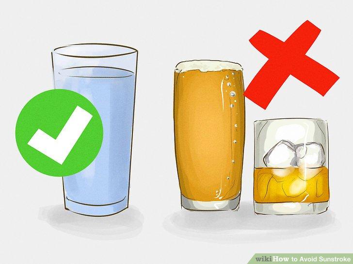 Drink plenty of fluids.