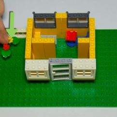 How To Make A Simple Lego Sofa Reclining Theater Sofas Build House 12 Steps With Pictures Wikihow 6