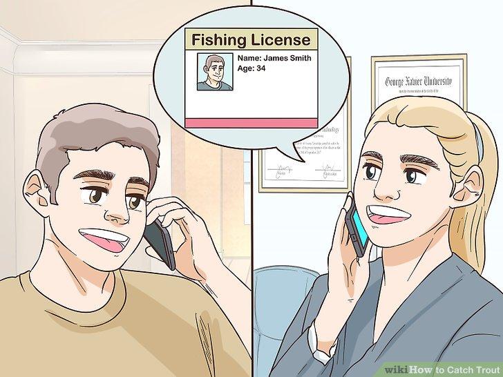 Informieren Sie sich über die Regeln und Vorschriften zum Fang von Forellen.