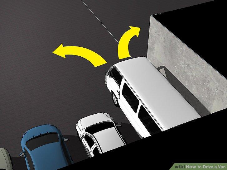 Zurück in die Parkplätze, um das Aussteigen zu erleichtern.