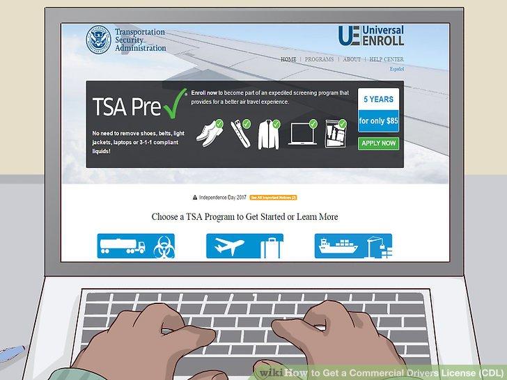 Starten Sie den TSA-Hintergrundüberprüfungsprozess.
