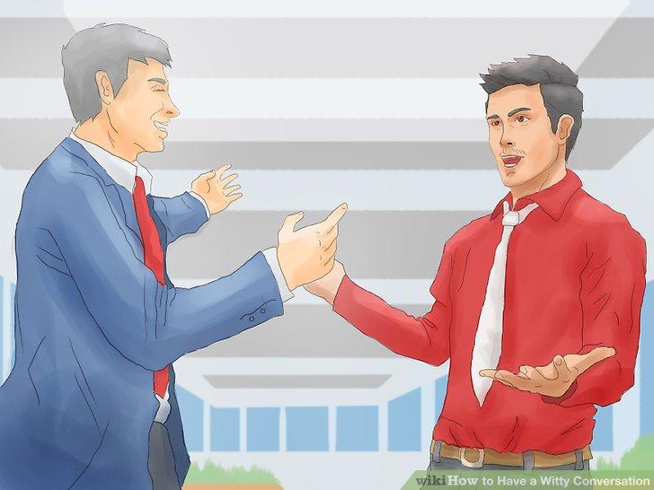 Stellen Sie gute Gespräche vor witzigen Gesprächen.