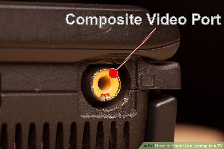 Get the right video cable to connect your laptop to your TV.