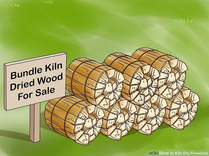 Brennofen getrocknetes Holz bündeln und mit einer Prämie verkaufen.
