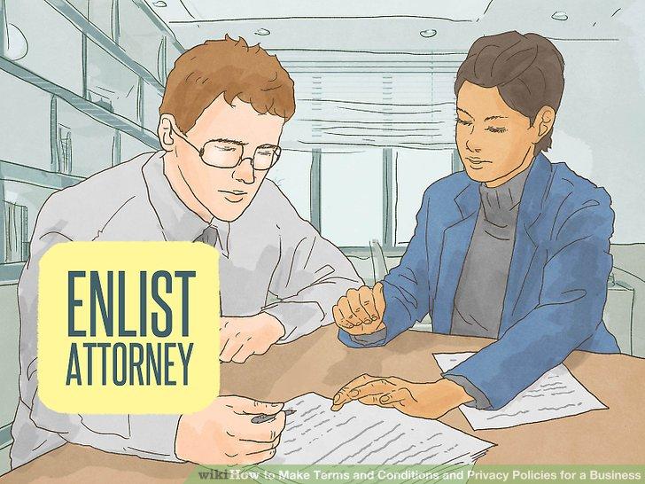 Çalışmanızı gözden geçirmek için bir avukatın hizmetlerini listeleyin.