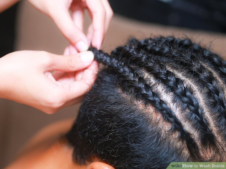 How to Wash Braids: 11 Steps (with Pictures)