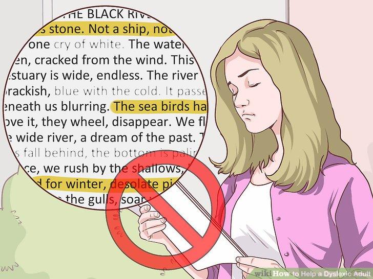 Vermeiden Sie visuelle Verzerrungen für Leser mit Lesestörungen.