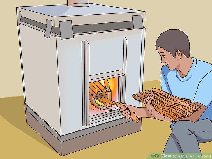 Sorgen Sie dafür, dass der Ofen während des Trocknens gleichmäßig mit Brennstoff versorgt wird.
