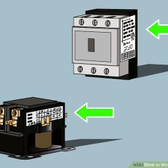 Three Way Switch Wiring Diagram Multiple Lights T12 Fluorescent Ballast How To Wire A Contactor 8 Steps With Pictures Wikihow Image Titled Step 1